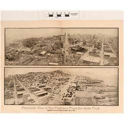 San Francisco's 1906 Earthquake & Fire Combo (2) Photo's & Book  (124811)