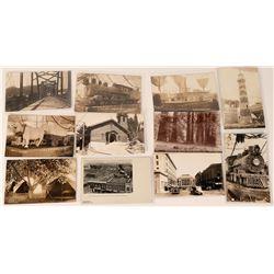 Santa Rosa / Sebastapol Area Real Photo Postcard Collection  (123468)