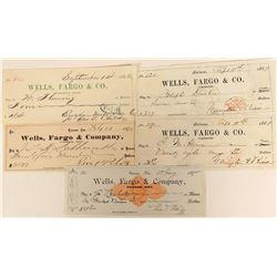 Wells Fargo & Co. Check Group (5)  (123124)