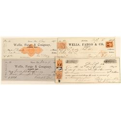 Wells Fargo & Company Bank, Carson City , Collection (4)  (123136)