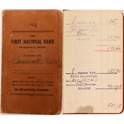 First National Bank of Goldfield Bank Book  (123147)
