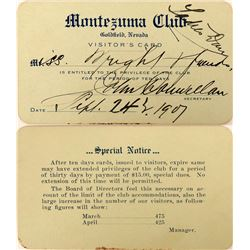 Montezuma Club of Goldfield, Nevada - Where the Rich and Famous Played!  (123144)
