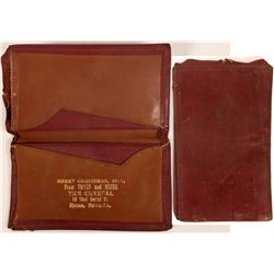 Wallet as a Christmas Gift from Thyes and Reese (See Nevada Bottle Book for history)  (123155)