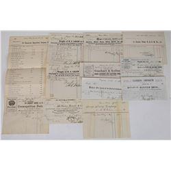 Comstock Billhead Collection 3   (113777)