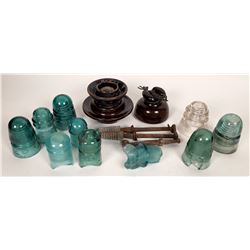 Collection of used Insulators  (123195)