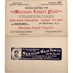 Mexican Roach Food Store Card  (124112)