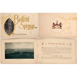 Booklet of Bedford Springs Compnay, PA  (122192)