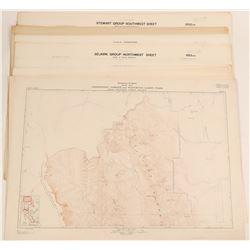 Maps of British Columbia, Alberta, and Yukon Territory  (117836)