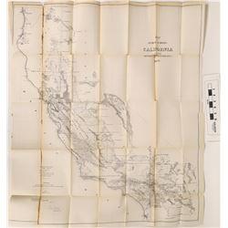 Early California Wall Map  (122853)