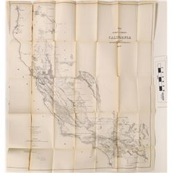 Early California Wall Map  (122853)