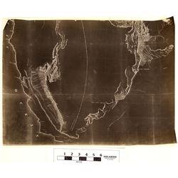 Rogue River Drainage Basin Oregon Land Use Map and Great Basin Map  (122902)