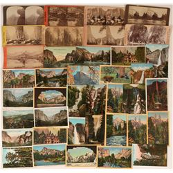 Yosemite Postcard and Stereoview Collection  (124095)
