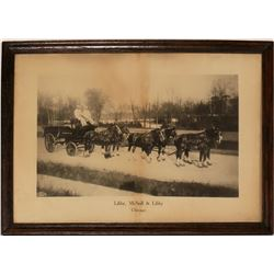 Libby, McNeil and Libby Cannery Horse Drawn Wagon Print  (125183)