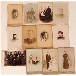 Nebraska Photo Portrait Collection, 19th Century (12)  (124107)
