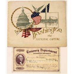 Photo Book of Washington D.C. from President McKinley's Inauguration  (124319)