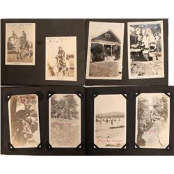 Album of B/W Photos Idaho/Oregon.  (122206)
