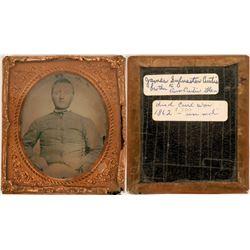 Civil War Photo Portrait  (124103)