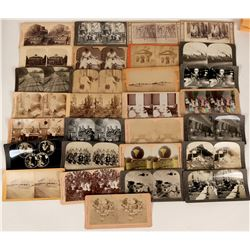 Large Stereo-view Collection  (123235)