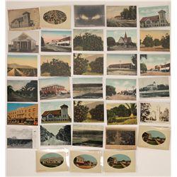 Lindsay, California Postcard Collection  (125812)