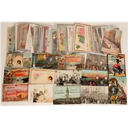 Portola Festival Postcard Collection (120 + cards)  (125843)