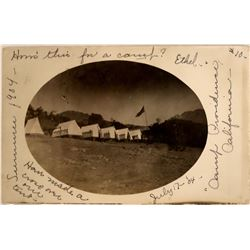 Camp Providence Postcard  (125881)