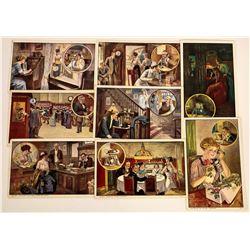 Bell Telephone Advertising Postcards  (125829)