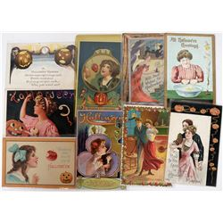 Halloween - Guys and Gals Postcards (9)  (125026)