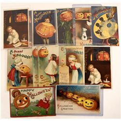 Halloween - International Advertising Company Postcards (13)  (125028)