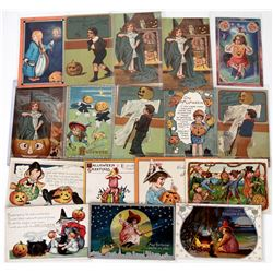 Halloween - Kids Postcards (17)  (125025)