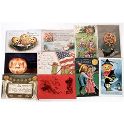 Halloween - Other Themed Postcards (10)  (125873)