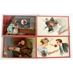 Halloween - Tuck Postcard Collection (4)  (125872)
