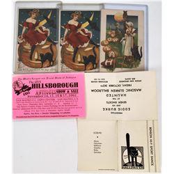Halloween Postcards - Black Cat Collection (3)  (125847)