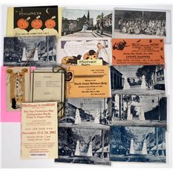 Halloween Postcards - Invitations, Party Photos  (125844)