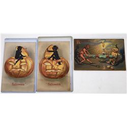 Halloween Postcards - The Devil You Say (3)  (125850)