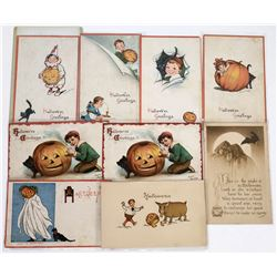 Halloween Postcards by Gibson (9)  (125845)
