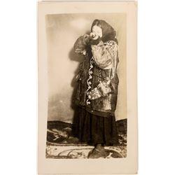 Real Photo Postcard of Eskimo  (122191)