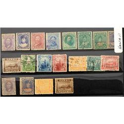Hawaiian Stamps (20)  (125662)