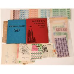 Stamp Album & Book on American Stamps  (122777)