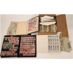 U. S. Stamp Stock, Uncurated Collection  (125575)