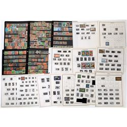 Caribbean Area Postage Stamps Collection   (125580)