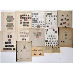 WWI and WWII Occupation Stamp Collection  (125687)
