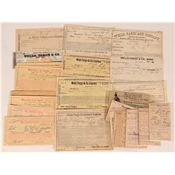 Wells Fargo Receipt Collection (21)  (123453)