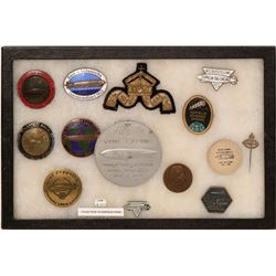 Collection of Rare Zeppelin Badges/Medals/pins  (122204)