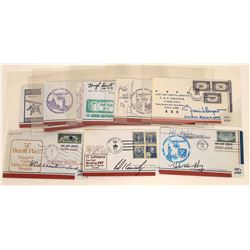 Autographed First Flight Covers  (124120)