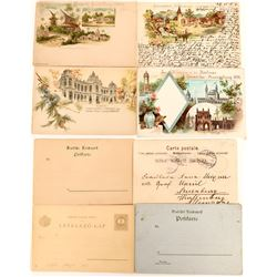 Exhibition Postcards, Berlin & Geneva (4)  (118560)