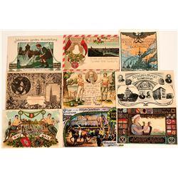 German Art Cards (9)  (118570)