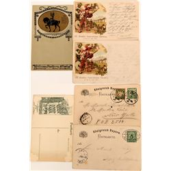 Nurnberg, Germany Postcard Group (3), Early Pioneer Cards  (118551)
