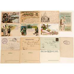 Schutzenfest Postcards With Various Festivals, 1901 (7)  (118554)