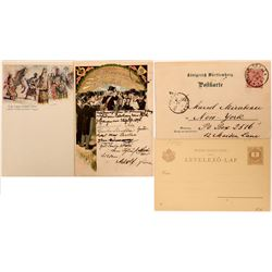 Songfest German Postcards from 1896 (2)  (118552)