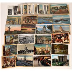 """Early Postcards """"San Francisco"""" Group  (120313)"""